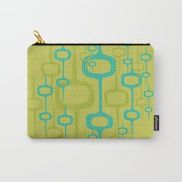 Eclectic Mid Century Modern Abstract Honeycomb Pattern Carry-All Pouch