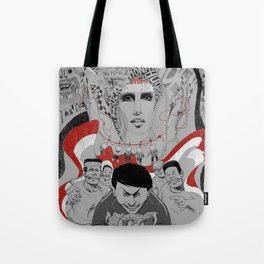 Corruption and Nepotism! Tote Bag