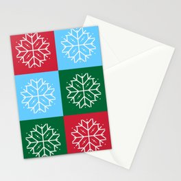 Snowflake 3x3 Stationery Cards