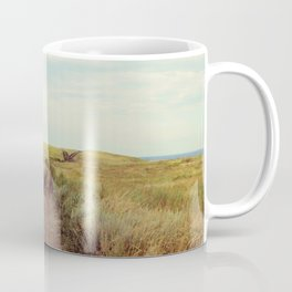 Rustic photography Country road photo Landscape print Nature poster Summer Coffee Mug