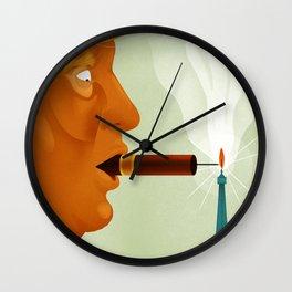 Paris Trumps Trump Wall Clock
