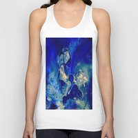 angels Tank Tops featuring angels by  Agostino Lo Coco