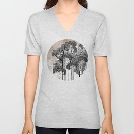 Crux - City in the Trees Unisex V-Neck