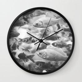 RedFish Wall Clock