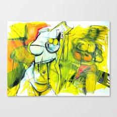 Body Language Canvas Print
