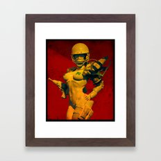 BoOmgirl Framed Art Print