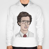 napoleon Hoodies featuring Napoleon Dynamite  by Steph Bourne