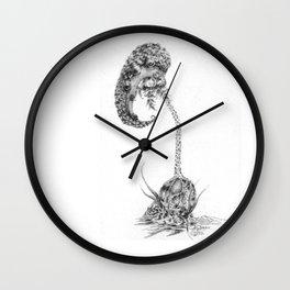 Regeneration (part of the Strange Plants series) Wall Clock