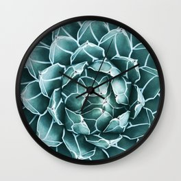 Succulent bloom Wall Clock