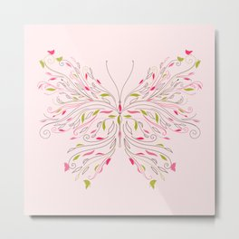 cute butterfly Metal Print