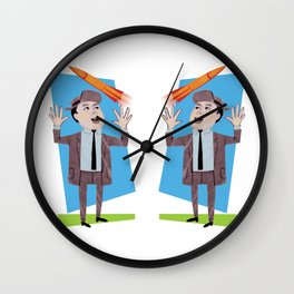 rocketman Wall Clock