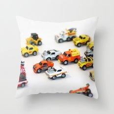 Micro Machine - Toy car Throw Pillow