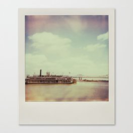 Mississippi River Canvas Print
