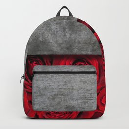 Concrete Flowers Backpack