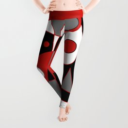 Abstract #915 Leggings