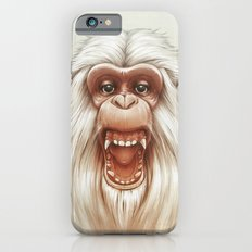 The White Angry Monkey Slim Case iPhone 6s