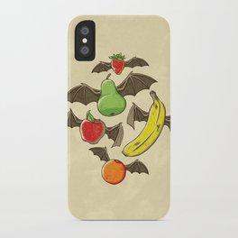 Fruit Bats iPhone Case