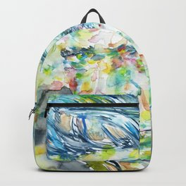 ANTHONY BURGESS - watercolor portrait Backpack