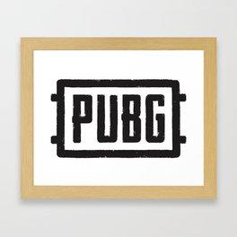 PUBG Framed Art Print