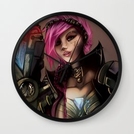 Piltover Enforcer Wall Clock