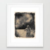 uncharted Framed Art Prints featuring Uncharted Waters by Dylan Murphy
