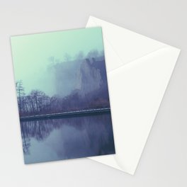 Fog on the Bluffs Stationery Cards
