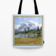 MOUNT SHUKSAN ONE AUGUST DAY Tote Bag