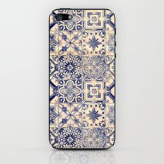Ornamental pattern iPhone & iPod Skin