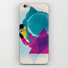 Compressed Colour iPhone Skin