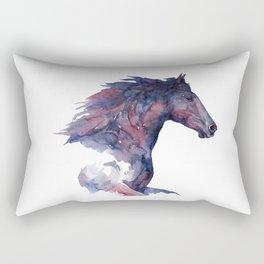Horse #4 Rectangular Pillow