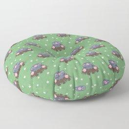 Cute little moles Floor Pillow