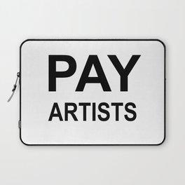 PAY ARTISTS Laptop Sleeve
