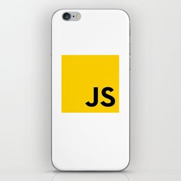 JS - Javascript programmer iPhone Skin