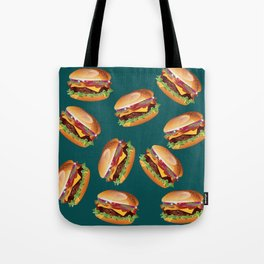 Deluxe Cheeseburger Tote Bag
