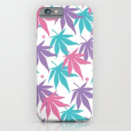 Magical Leaves iPhone Case