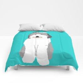 Lucy The Sheepadoodle Comforters