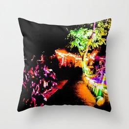 Rock Show Throw Pillow