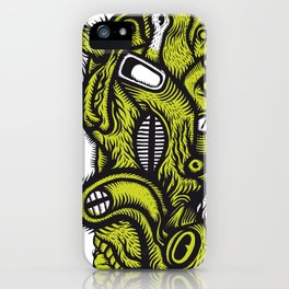 Irradié - the print iPhone Case