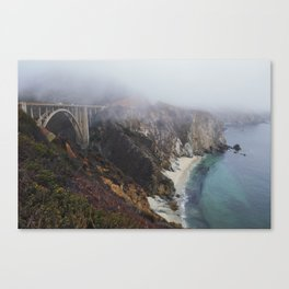 Smoky Morning Canvas Print
