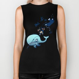 Whales are Furious! Biker Tank