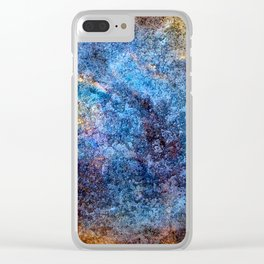 Galaxy Series: Number Seven Clear iPhone Case