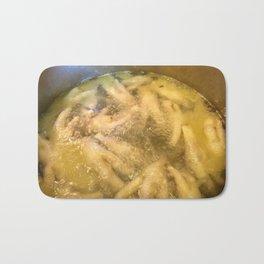 Boiling Chicken Feet Bath Mat