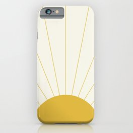Sunrise / Sunset Minimalism iPhone Case