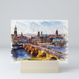 DRESDEN, Germany - Beautiful Earth Mini Art Print