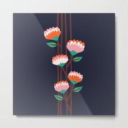 Benoít Flowers Metal Print