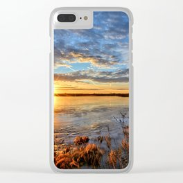 Winds On Big Marsh Clear iPhone Case