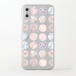 Microbe Collection Clear iPhone Case