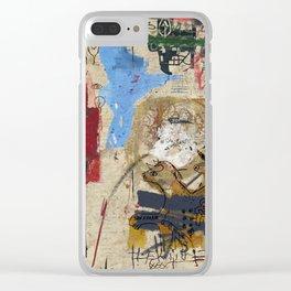 Jean-Michel Bradley Clear iPhone Case