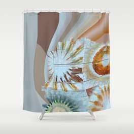 Semicynically Naked Flowers  ID:16165-045425-04611 Shower Curtain
