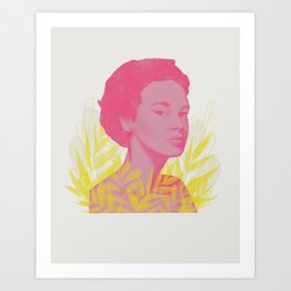 Side Eye Art Print